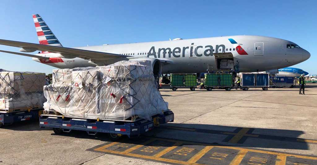 American Airlines - Carga Aérea