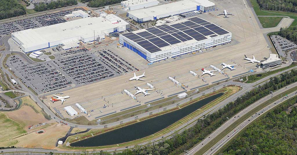 Boeing Factory - South Carolina