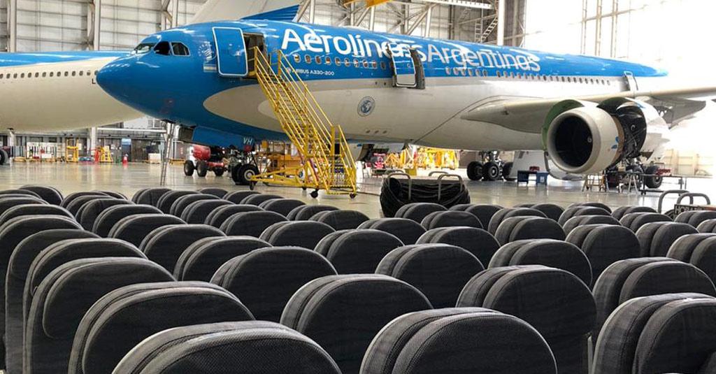 Aerolíneas Argentinas - Airbus A330 / Service Bulletin Cargo