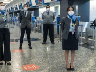COVID-19-Aerolíneas Argentinas protocolos sanitarios
