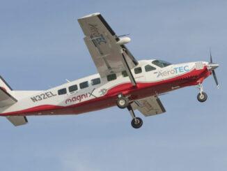 Cessna 208B eCaravan con motor eléctrico