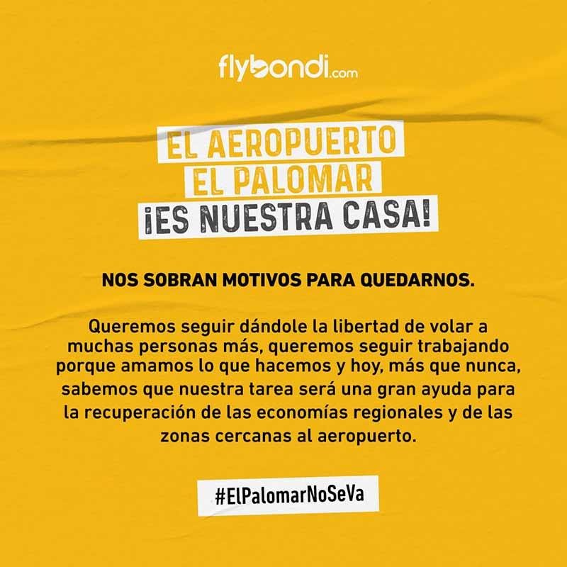 #ElPalomarNoSeVa
