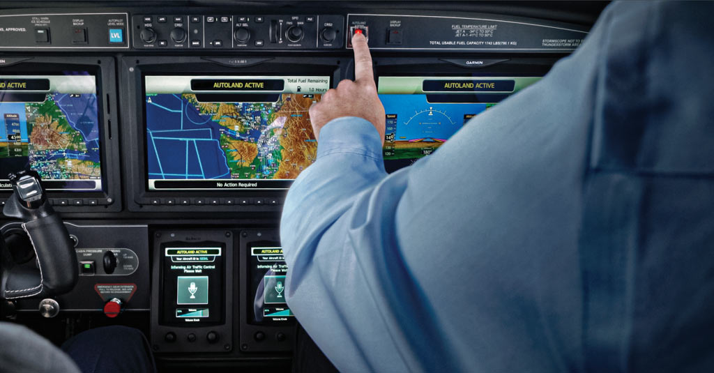 Piper M600-SLS_Cockpit Garmin G3000 with Autoland