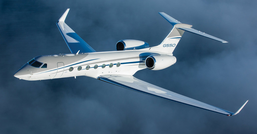 Business Aviation - Gulfstream G550