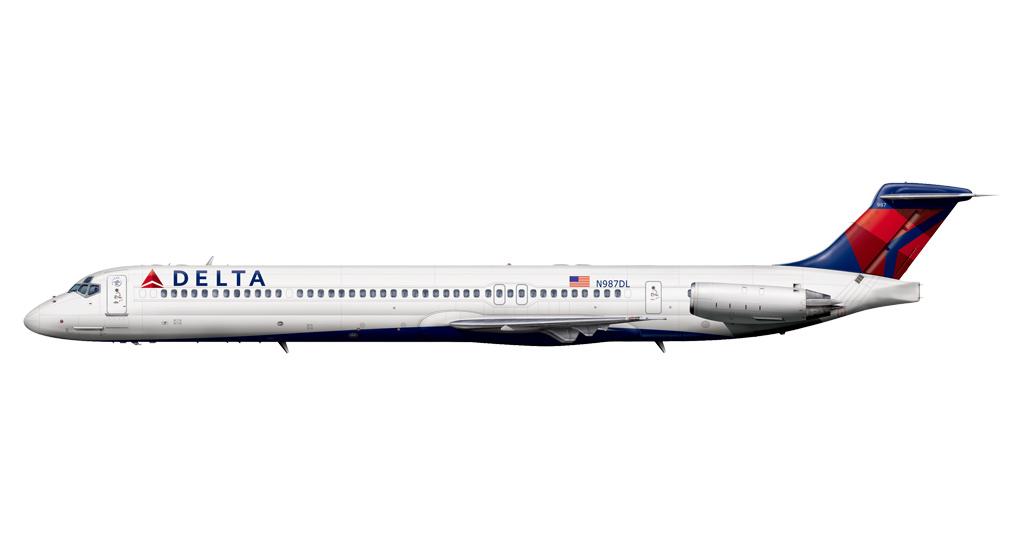 Delta MD-88 (Render)