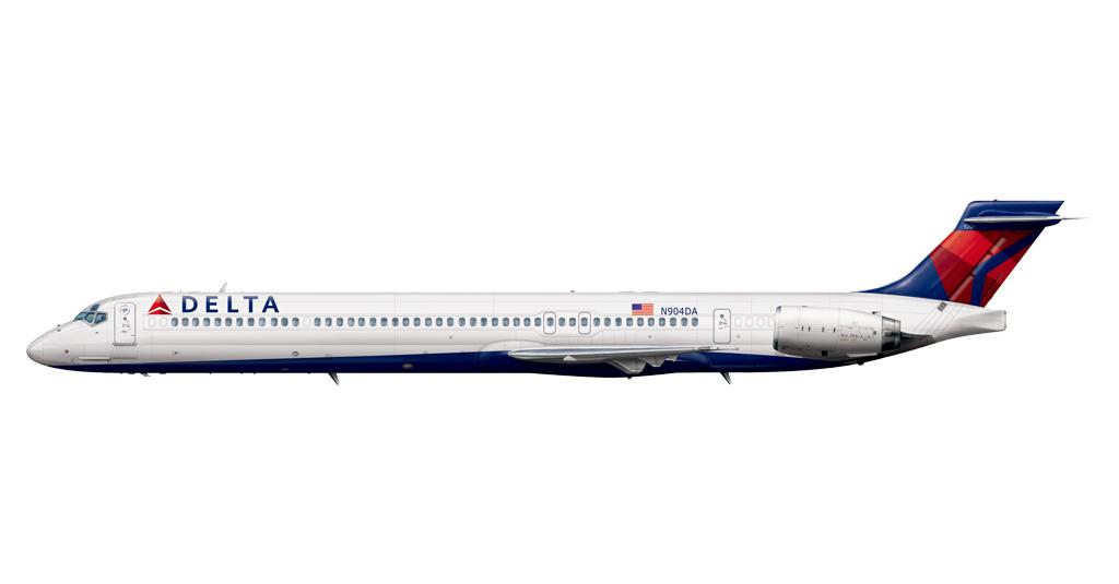 Delta MD-90 (Render)