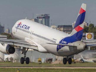 LATAM Argentina - Airbus A320 (LV-BRA)