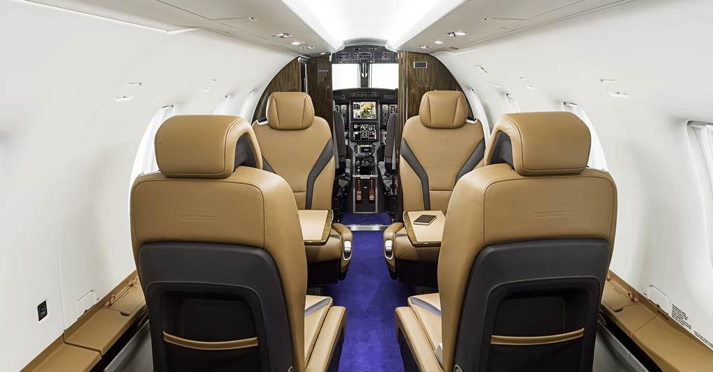 Pilatus PC-12 NGX (BMW designworks interior)