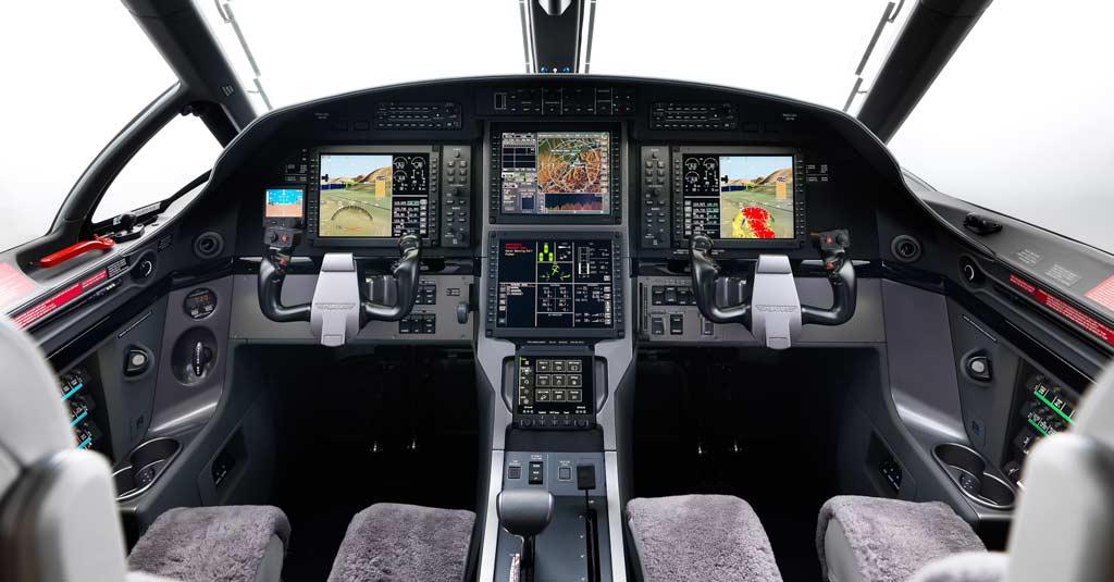 Pilatus PC-12 NGX (Cockpit)