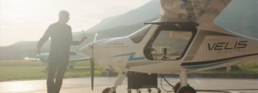 "Pipistrel ""VELIS Electro"" - First fully electric Airplane"