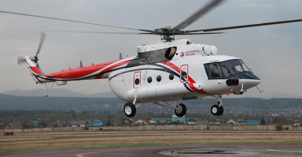 """ROSTEC - Russian Helicopters Mi-8AMT """"Arctic"""""""