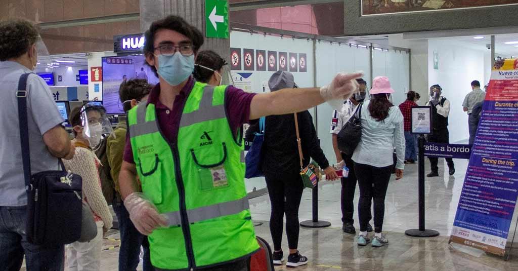 Aeropuerto Internacional Ciudad de México_AICM_Programa Sana Distancia_CDMX