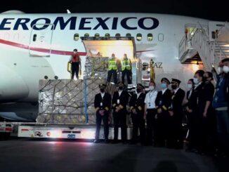 COVID-19: Aeroméxico realizó 200 vuelos de carga esencial para México y otros 15 países
