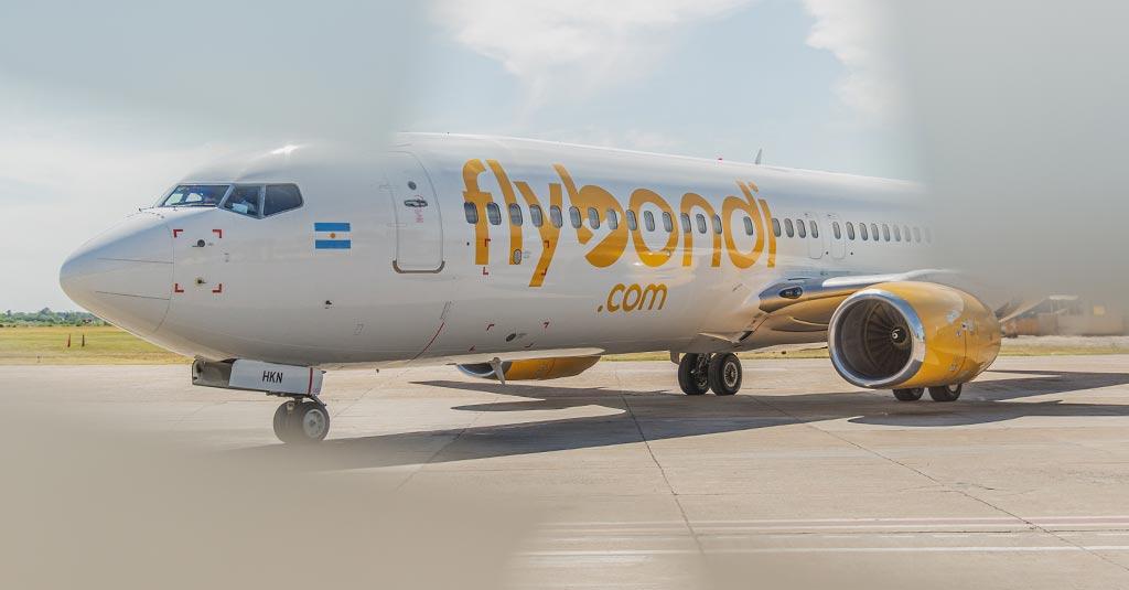Flybondi - Primer aerolínea low cost de Argentina