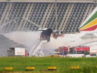Boeing 777F - Ethiopian Airlines Cargo / Incendio en el Aeropuerto Internacional de Shanghai (SVG)