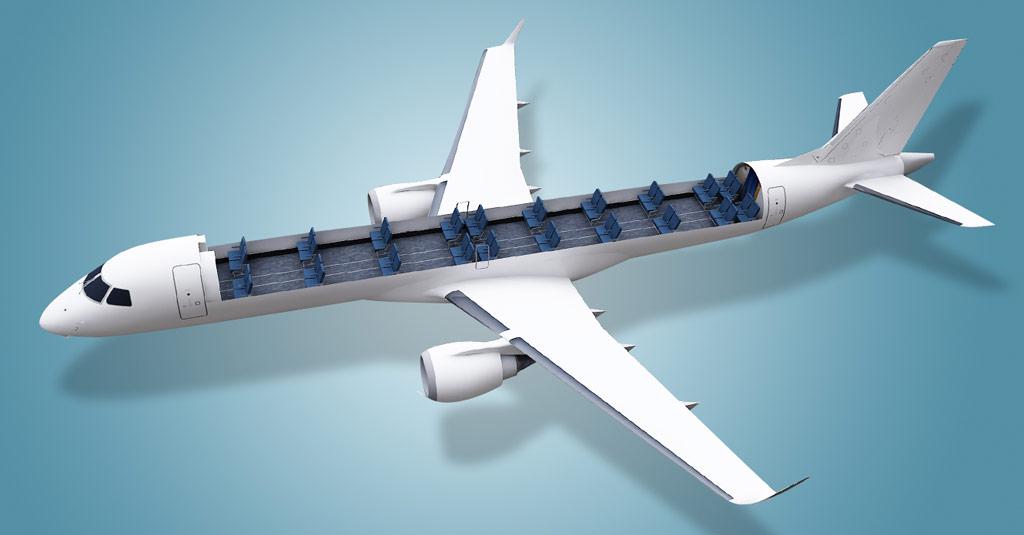 Embraer desarrolla soluciones para transporte de carga en aviones de pasajeros