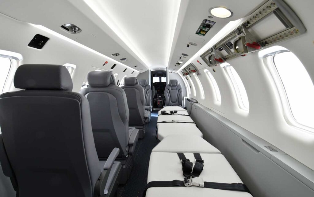Pilatus PC-24 / Medevac Interior