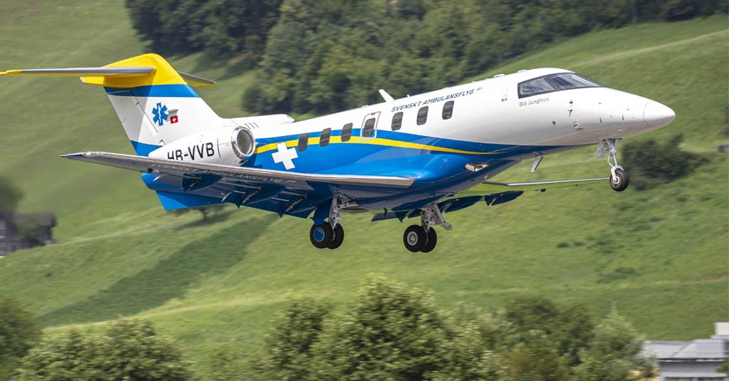 Pilatus PC-24 / Swedish Medevac