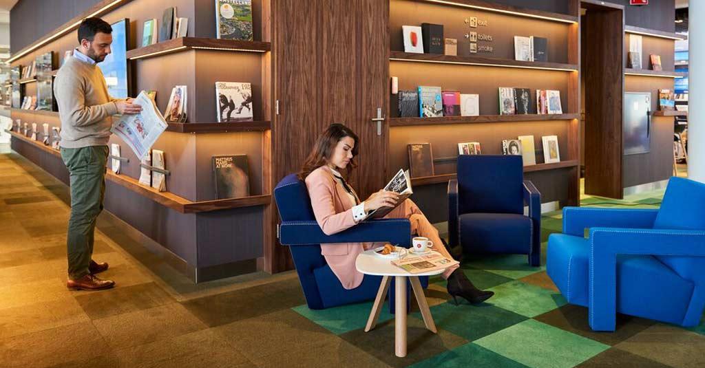 KLM - Crown Lounge VIP (Schiphol) Amsterdam