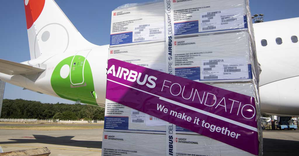 La Fundación Airbus y Aerolíneas de México, juntos contra el COVID-19
