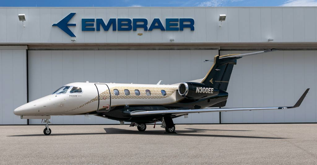"Embraer - Phenom 300E ""Bossa Nova"" / Patient AirLift Services"