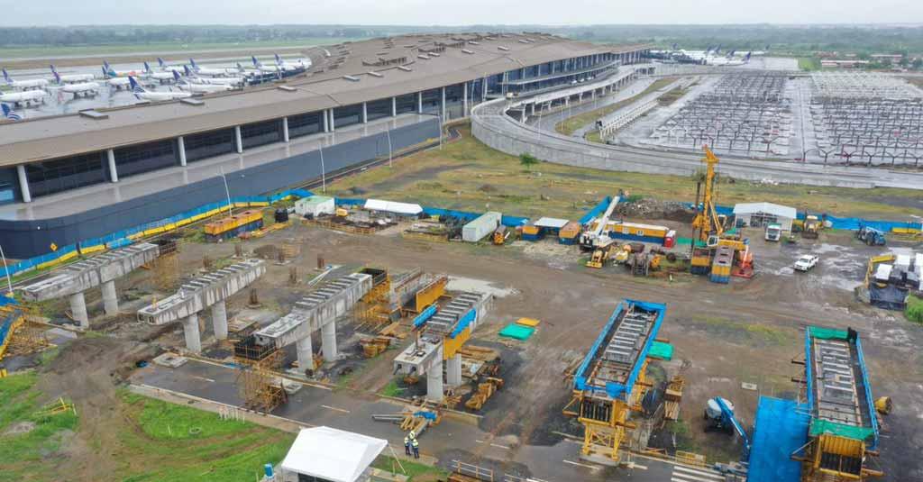Obras del Metro (Línea 2), Aeropuerto Internacional Tocumen, Panamá
