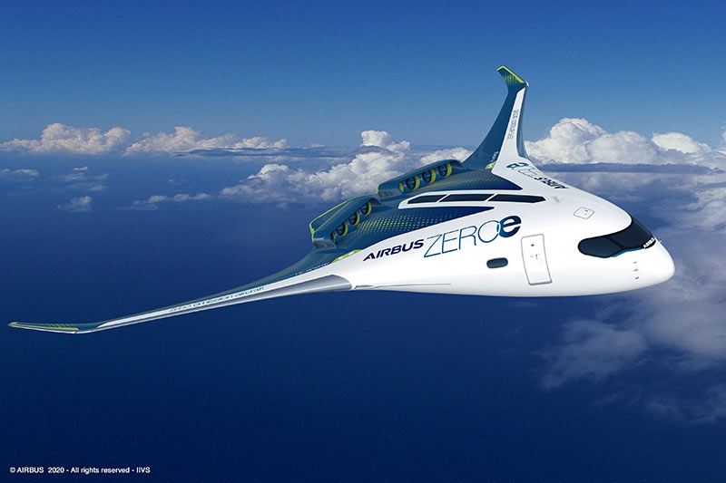 Airbus ZEROe (Blended Wing Body Concept)