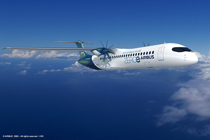 Airbus ZEROe (Turboprop Concept)
