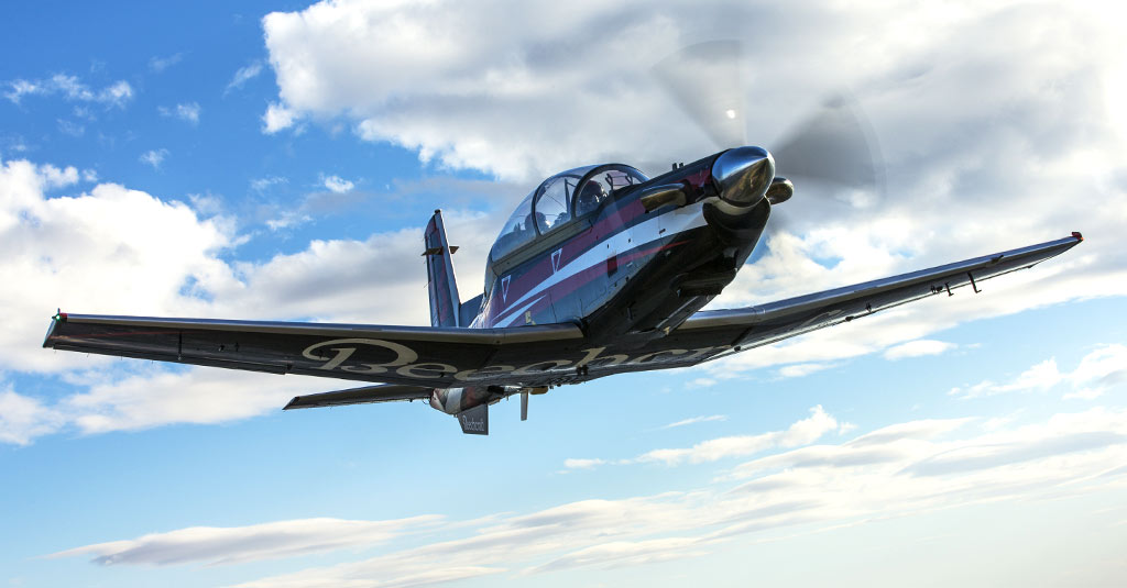 Textron Aviation Defense / Beechcraft T-6C Texan II