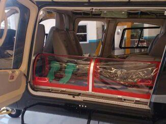 Argentina fabrica cápsula para traslado aéreo de pacientes con COVID-19
