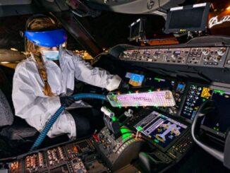 Boeing otorga licencia de su dispositivo de luz ultravioleta a Healthe, Inc. para la lucha contra el COVID-19