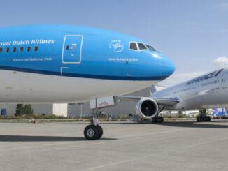 Grupo Air France - KLM / Vuelos internacionales