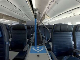 United Airlines - Antimicrobial Sprayer
