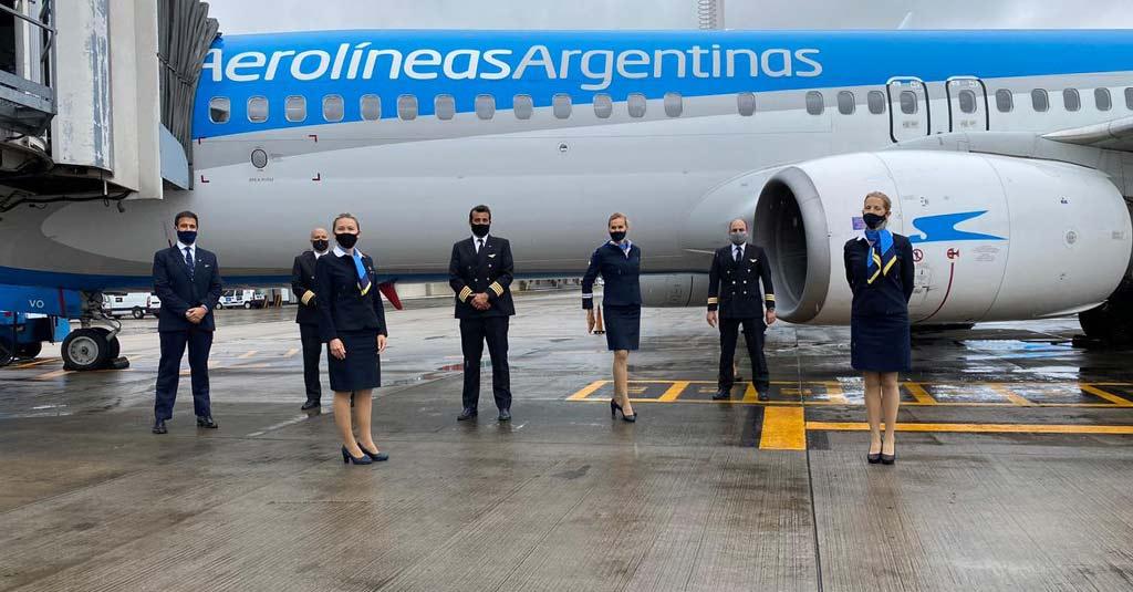 Aerolíneas Argentinas reinició la operación regular de sus vuelos domésticos