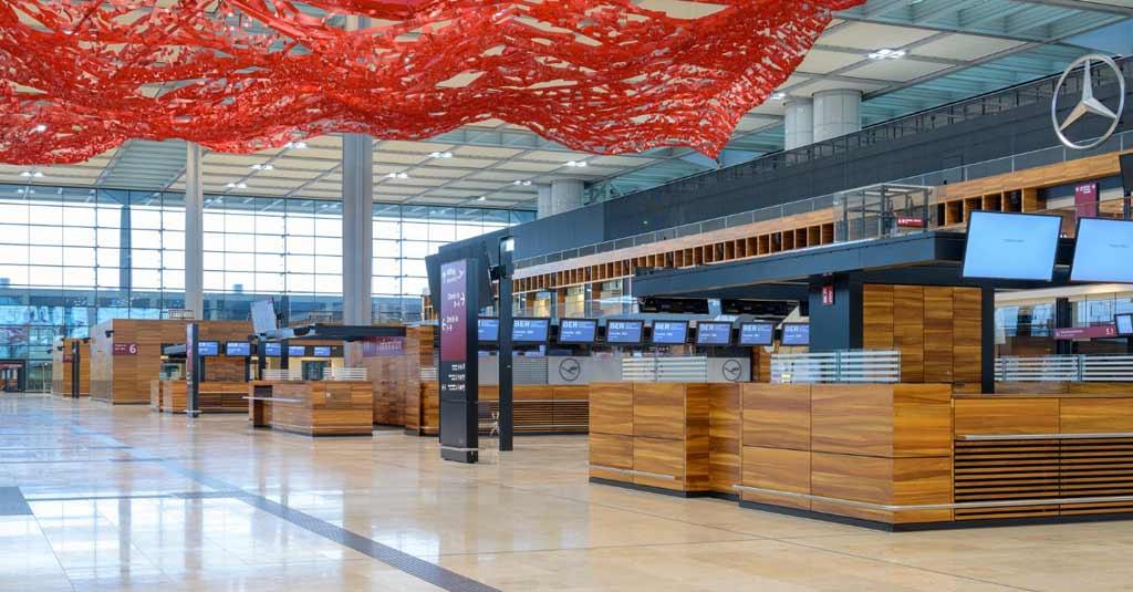 Aeropuerto Berlín Bradenburgo (BER) / Alemania