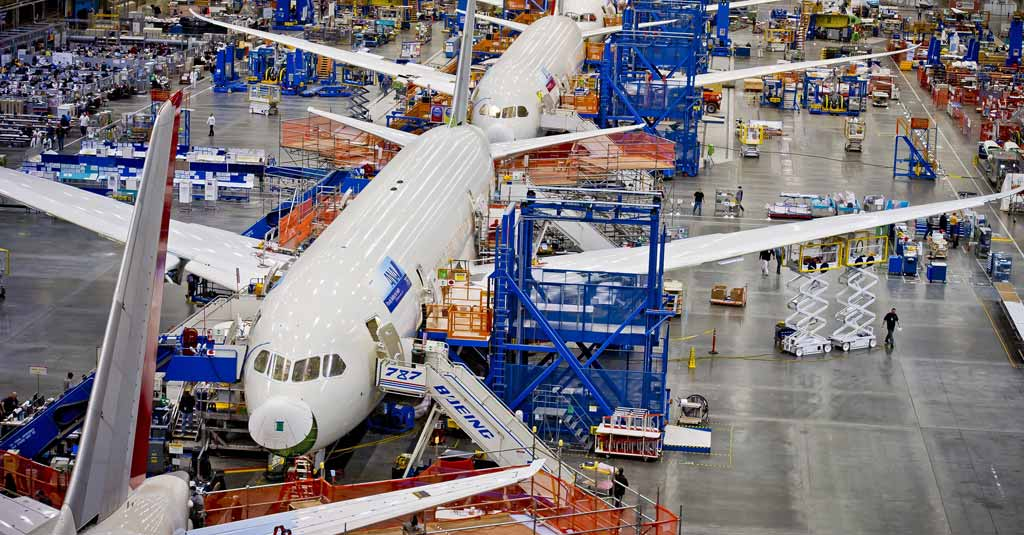 Boeing 787 - Final Assembly Line