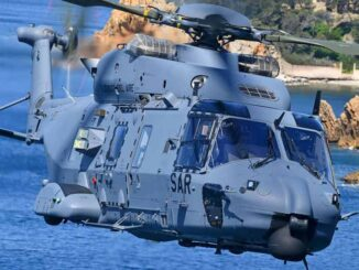 El Ejercito del Aire de España recibió su primer helicóptero NH90 para misiones de búsqueda y salvamento