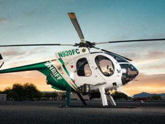 MD Helicopters recibió la certificación de la FAA para el MD 530F con 3.350Lbs de MGTOW