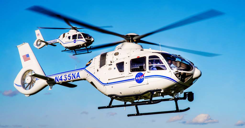 NASA - Airbus Helicopters H135