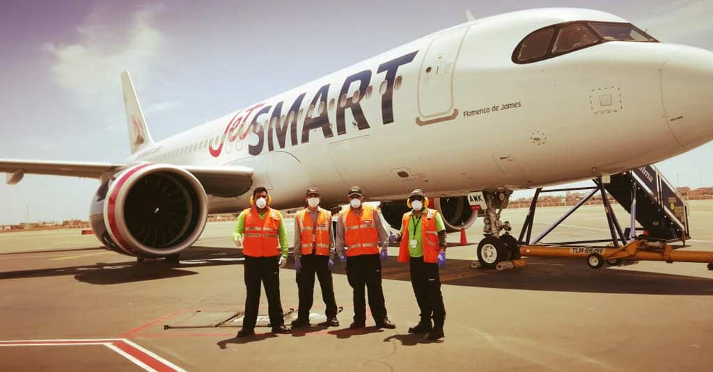 Airbus A320neo JetSMART Chile (Vuelos Especiales octubre)