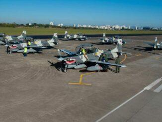 La Fuerza Aérea de Filipinas recibió seis Embraer A-29 Super Tucano