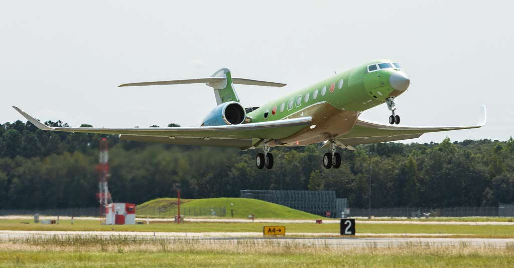 Gulfstream G700 (Flight Test)