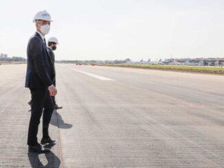 Mario Meoni - Obras en Aeroparque