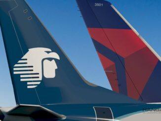 Aeroméxico / Delta - Vuelos entre México y Estados Unidos