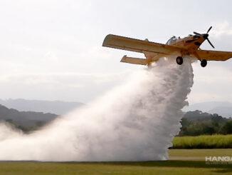 Aviación Agrícola y el combate de incendios