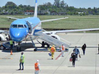Se reanudaron los vuelos a Rosario