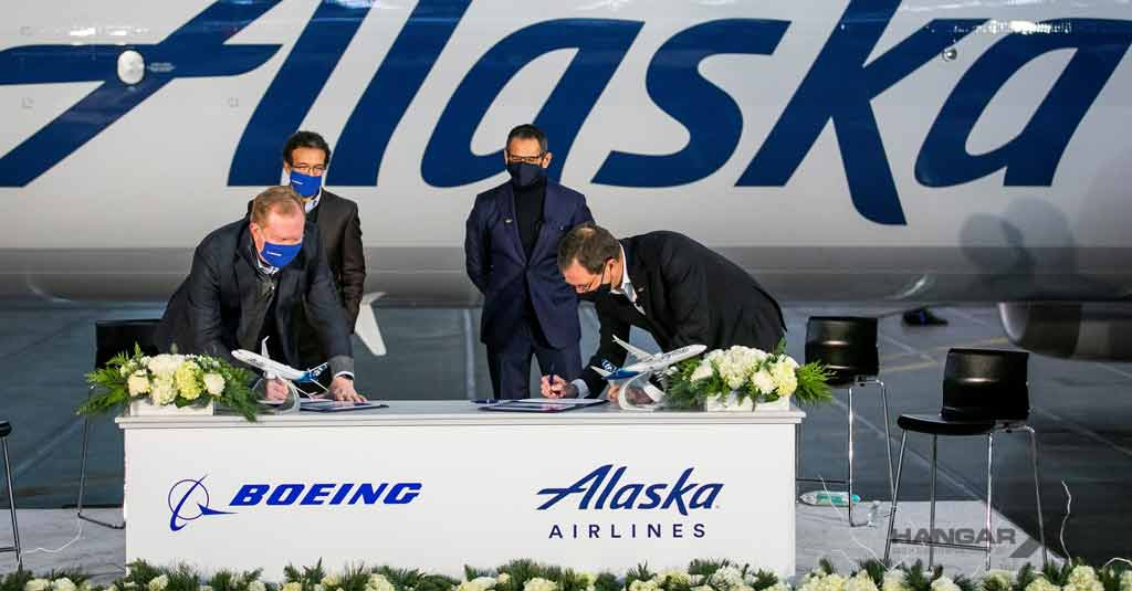 Alaska Airlines compra 23 Boeing 737 MAX