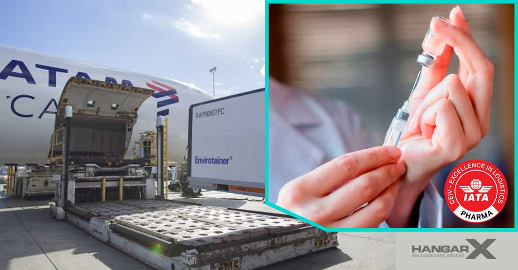 LATAM Airlines transporta gratis la vacuna contra el COVID