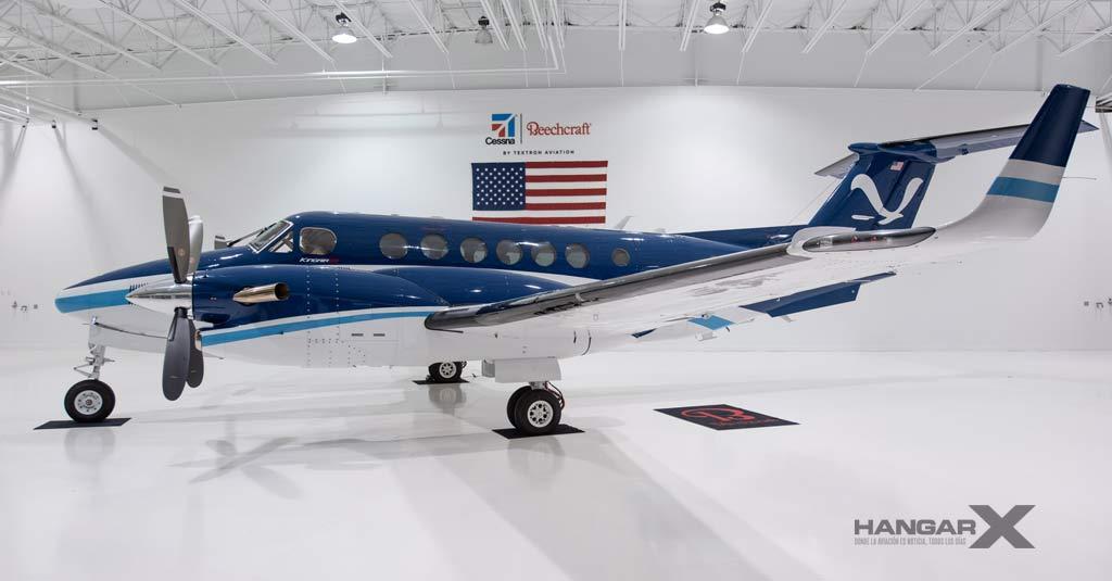 El NOAA incorpora un nuevo Beechcraft King Air 350 CER