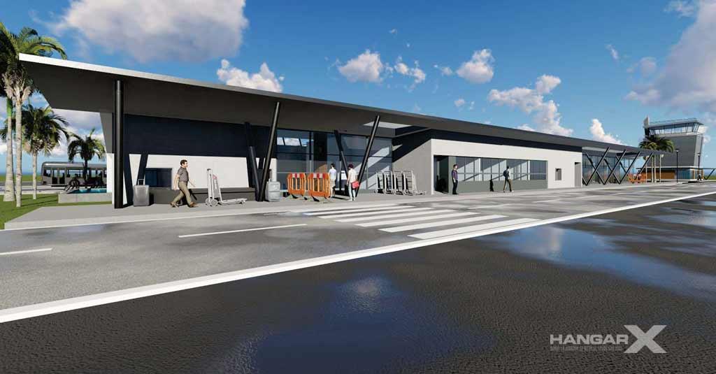 Aeropuerto de Concordia (Render Obras)